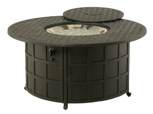 010002 COMPLETE Newport Gas Fire Pit INCLUDES: 010091 Newport Gas Fire Pit & 616608 Crystal Fire Burner