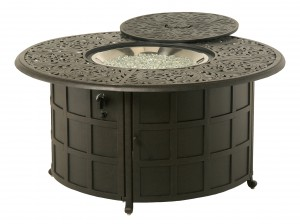 020002 COMPLETE Chateau Gas Fire Pit INCLUDES: 020091 Chateau Gas Fire Pit & 616608 Crystal Fire Burner