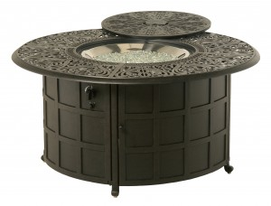 048002 COMPLETE Tuscany Gas Fire Pit INCLUDES: 048091 Tuscany Gas Fire Pit & 616608 Crystal Fire Burner