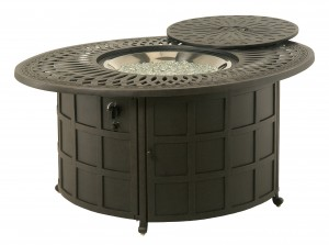 208002 COMPLETE Mayfair Gas Fire Pit INCLUDES: 208091 Mayfair Gas Fire Pit & 616608 Crystal Fire Burner