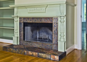 Beautify and augment your fireplace with  a variety of accessories.