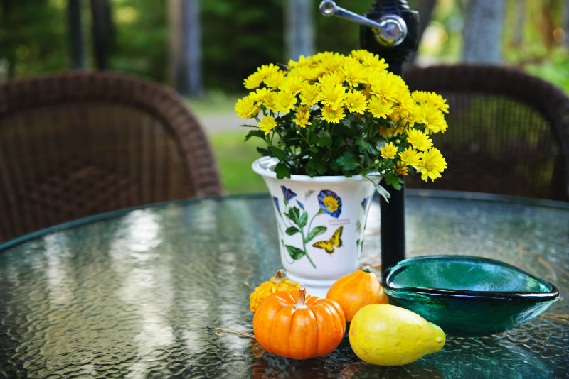 Enjoy the Outdoors Throughout Fall with the Right Patio Accessories