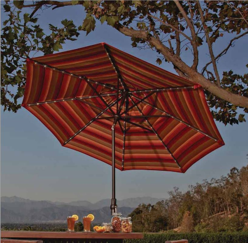 Stay Cooler in Summer with A Patio Umbrella