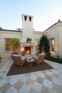 Enjoy Winter With An Outdoor Fireplace
