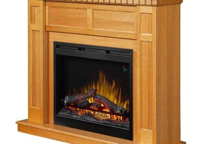 Dimplex Mantel Fireplace 6