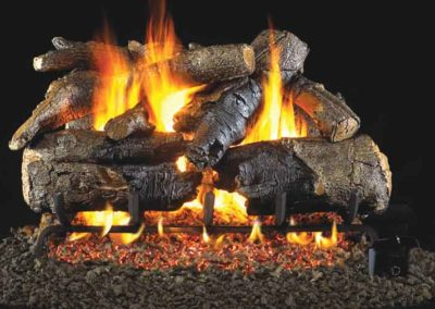 Peterson Vented Gas Log Charred